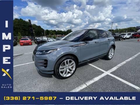 2020 Land Rover Range Rover Evoque for sale at Impex Auto Sales in Greensboro NC