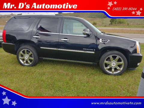 2009 Cadillac Escalade for sale at Mr. D's Automotive in Piney Flats TN