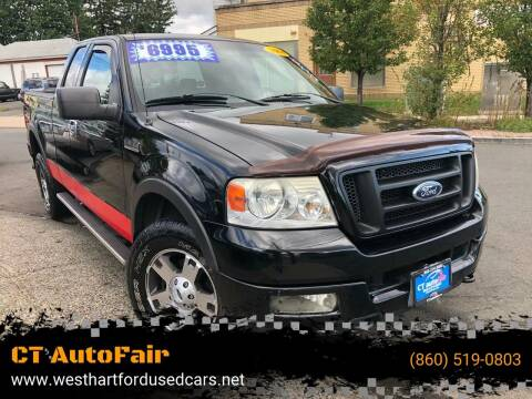 2004 Ford F-150 for sale at CT AutoFair in West Hartford CT