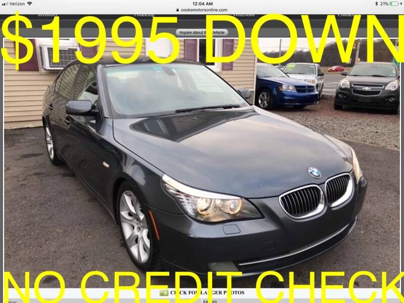 2008 BMW 5 Series for sale at Cooks Motors in Westampton NJ