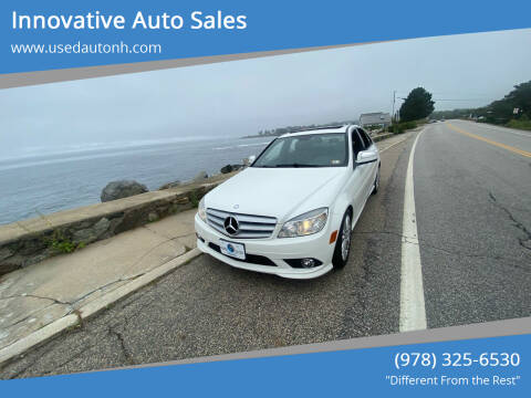 2009 Mercedes-Benz C-Class for sale at Innovative Auto Sales in North Hampton NH