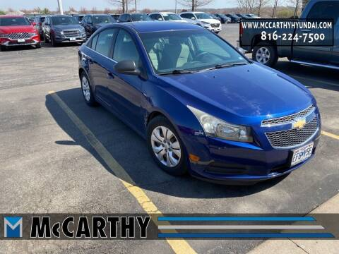 2012 Chevrolet Cruze for sale at Mr. KC Cars - McCarthy Hyundai in Blue Springs MO