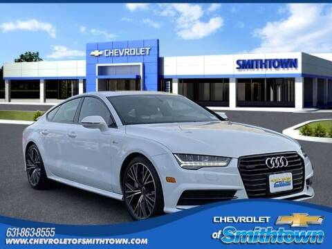 2017 Audi A7 for sale at CHEVROLET OF SMITHTOWN in Saint James NY