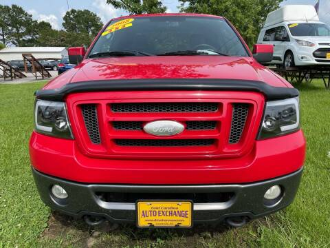 2008 Ford F-150 for sale at DRIVEhereNOW.com in Greenville NC
