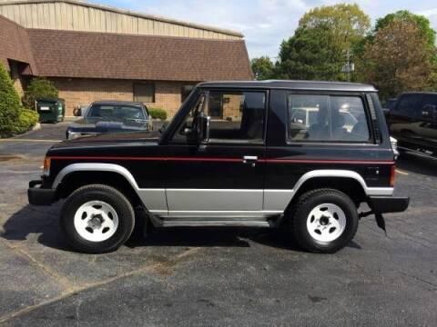 1988 Mitsubishi Pajero for sale at Classic Car Deals in Cadillac MI