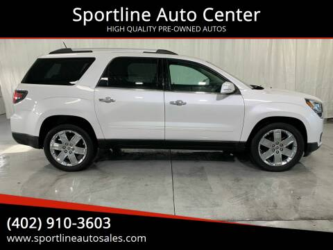 2017 GMC Acadia Limited for sale at Sportline Auto Center in Columbus NE