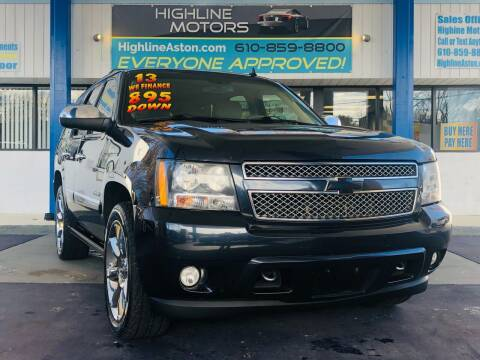 2013 Chevrolet Tahoe for sale at Highline Motors in Aston PA