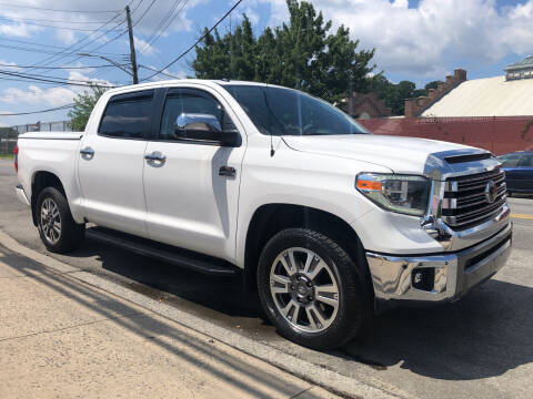 2018 Toyota Tundra for sale at Deleon Mich Auto Sales in Yonkers NY