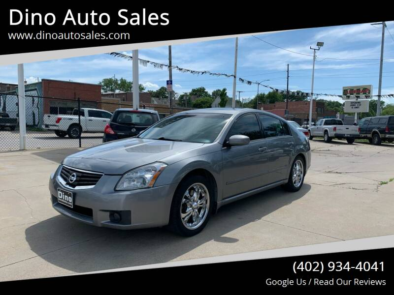 2007 Nissan Maxima for sale at Dino Auto Sales in Omaha NE