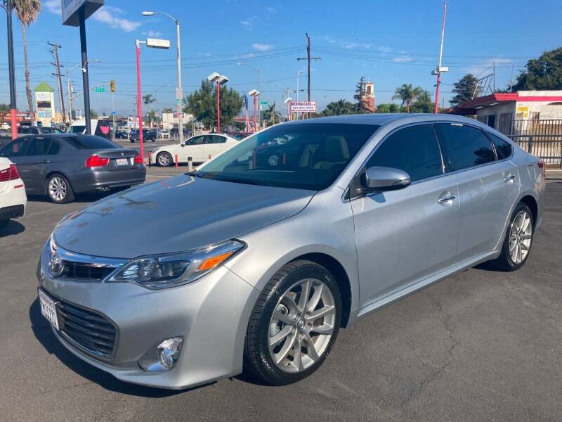 2015 Toyota Avalon for sale at Pacific West Imports in Los Angeles CA