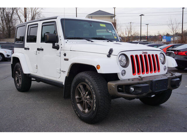 2017 Jeep Wrangler Unlimited for sale at Classified pre-owned cars of New Jersey in Mahwah NJ
