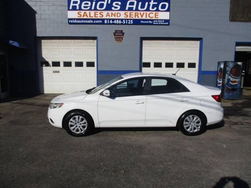 2010 Kia Forte for sale at Reid's Auto Sales & Service in Emporium PA