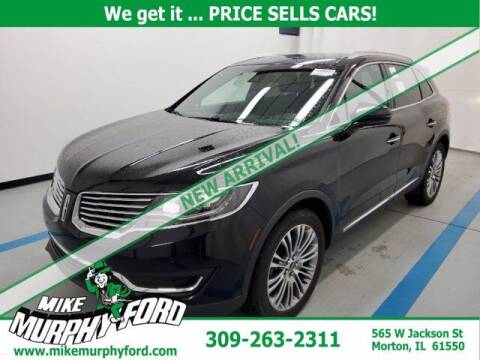 2016 Lincoln MKX for sale at Mike Murphy Ford in Morton IL