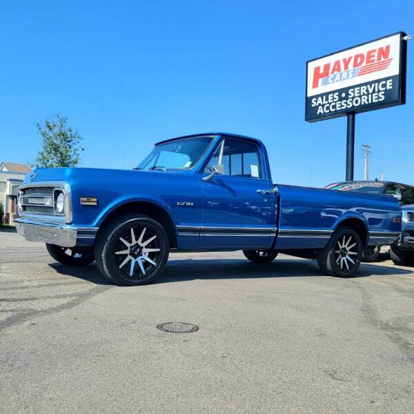 1970 Chevrolet C/K 10 Series for sale at Hayden Cars in Coeur D Alene ID