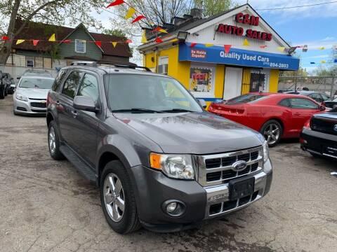 2009 Ford Escape for sale at C & M Auto Sales in Detroit MI