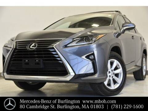 2016 Lexus RX 350 for sale at Mercedes Benz of Burlington in Burlington MA