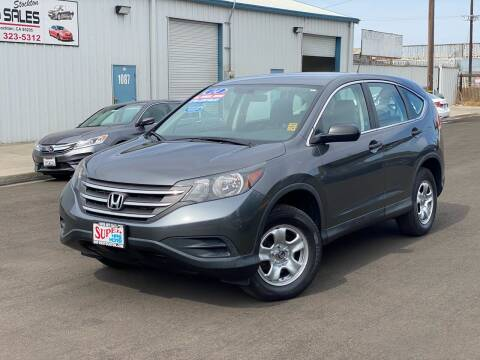 2014 Honda CR-V for sale at SUPER AUTO SALES STOCKTON in Stockton CA