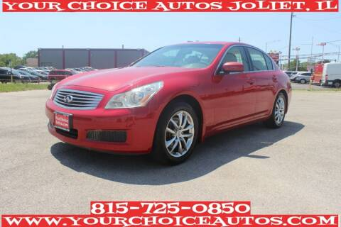 2008 Infiniti G35 for sale at Your Choice Autos - Joliet in Joliet IL