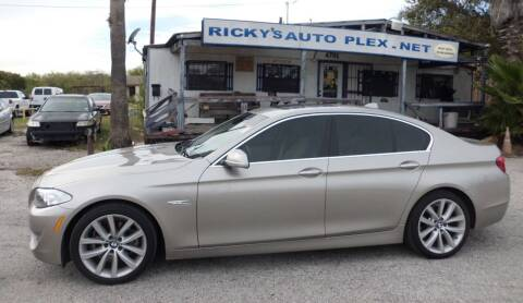 2013 BMW 5 Series for sale at RICKY'S AUTOPLEX in San Antonio TX