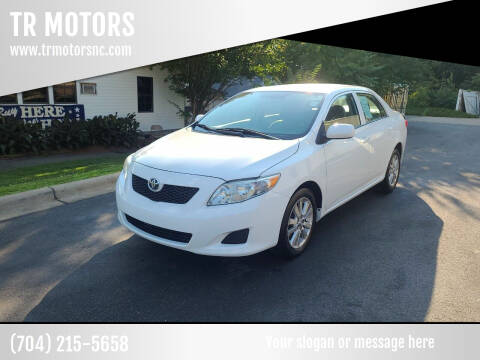 2010 Toyota Corolla for sale at TR MOTORS in Gastonia NC