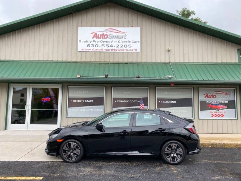 2017 Honda Civic for sale at AutoSmart in Oswego IL