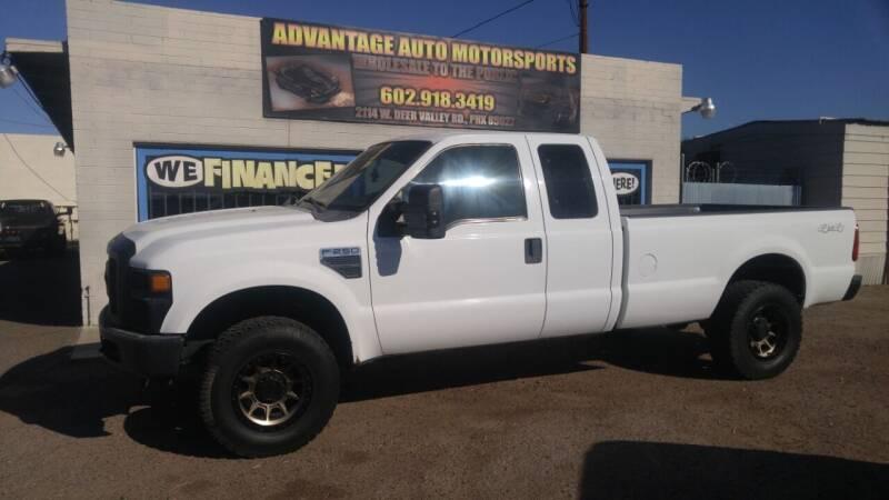 2010 Ford F-250 Super Duty for sale at Advantage Auto Motorsports in Phoenix AZ
