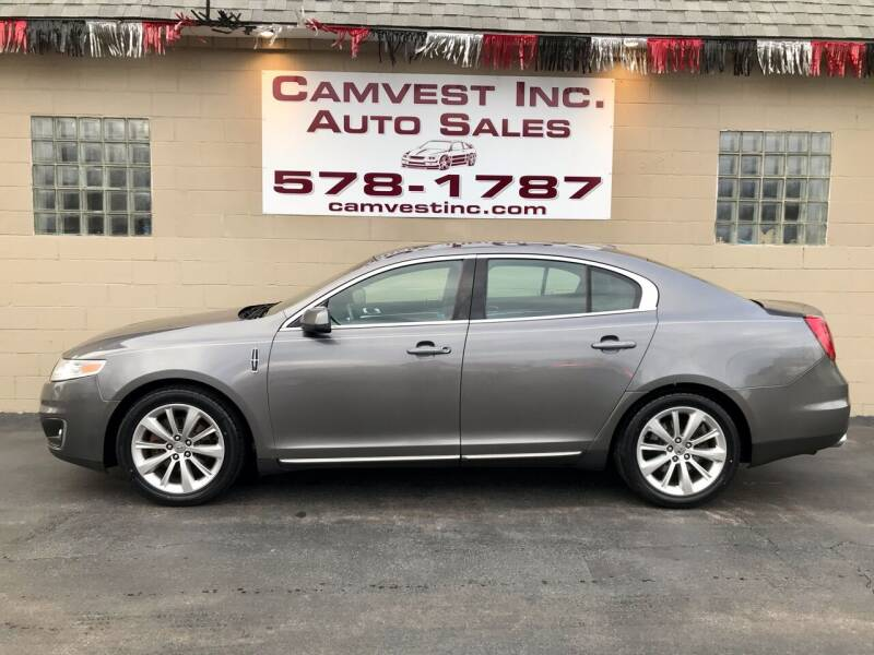 2012 Lincoln MKS for sale at Camvest Inc. Auto Sales in Depew NY