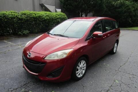 2013 Mazda MAZDA5 for sale at Key Auto Center in Marietta GA