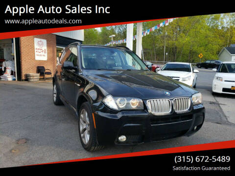 2007 BMW X3 for sale at Apple Auto Sales Inc in Camillus NY