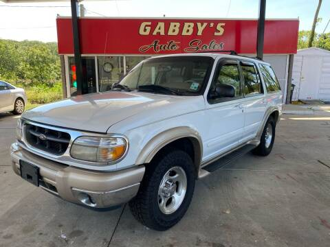 2000 Ford Explorer for sale at GABBY'S AUTO SALES in Valparaiso IN