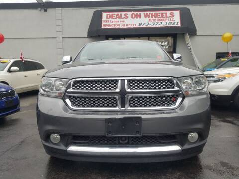 2013 Dodge Durango for sale at Gem Auto Sales in Irvington NJ