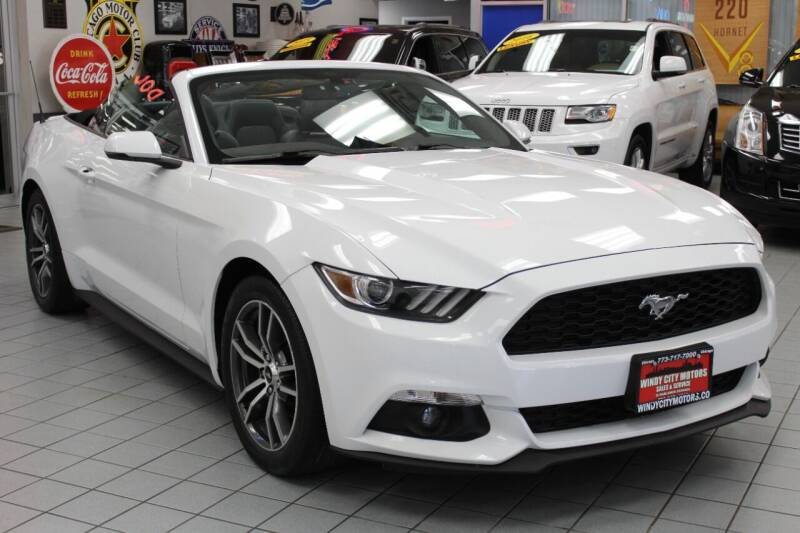 2016 Ford Mustang for sale at Windy City Motors in Chicago IL