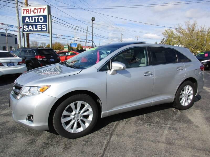 2014 Toyota Venza for sale at TRI CITY AUTO SALES LLC in Menasha WI