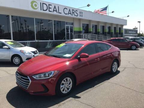 2017 Hyundai Elantra for sale at Ideal Cars Broadway in Mesa AZ