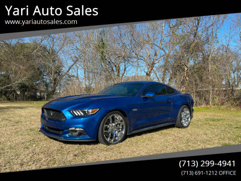 2017 Ford Mustang for sale at Yari Auto Sales in Houston TX
