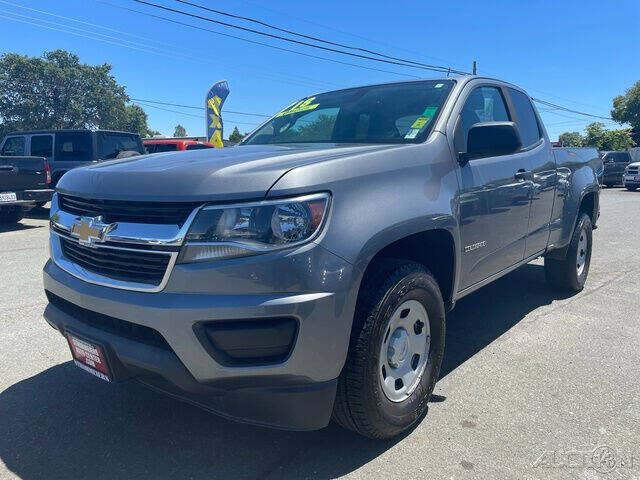 2018 Chevrolet Colorado for sale at Guy Strohmeiers Auto Center in Lakeport CA
