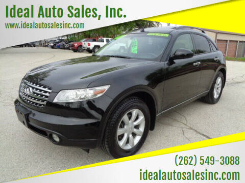 2003 Infiniti FX35 for sale at Ideal Auto Sales, Inc. in Waukesha WI