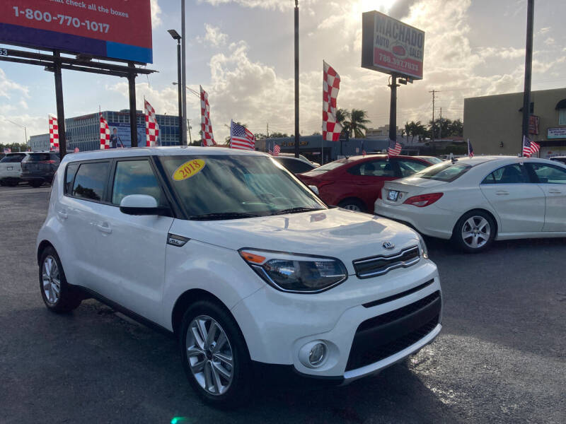 2018 Kia Soul for sale at MACHADO AUTO SALES in Miami FL