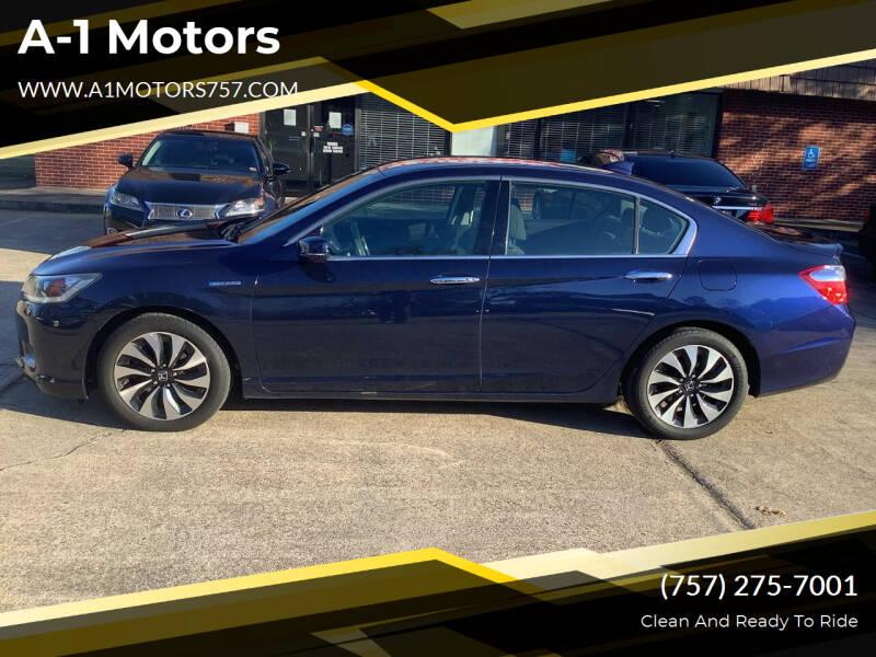 2015 Honda Accord Hybrid for sale at A-1 Motors in Virginia Beach VA