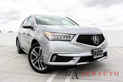 2017 Acura MDX for sale at Zen Auto Sales in Sacramento CA