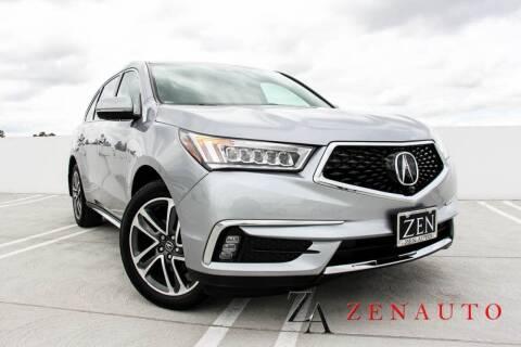 2017 Acura MDX for sale at Zen Auto Sales in Sacramento CA