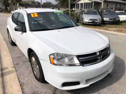2012 Dodge Avenger for sale at Castagna Auto Sales LLC in Saint Augustine FL