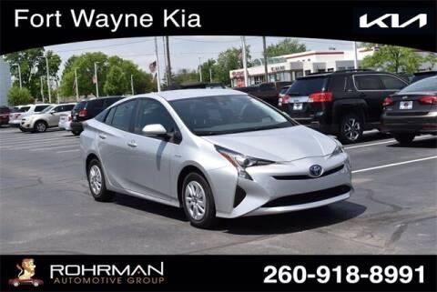 2017 Toyota Prius for sale at BOB ROHRMAN FORT WAYNE TOYOTA in Fort Wayne IN