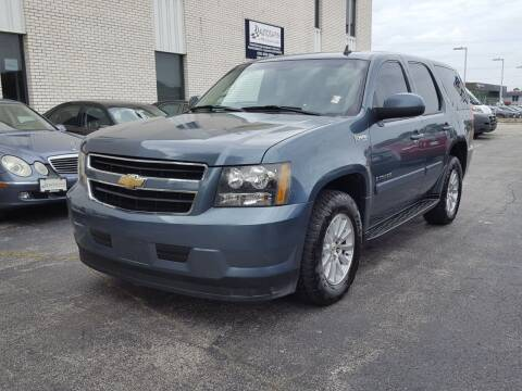 2009 Chevrolet Tahoe for sale at AUTOSAVIN in Elmhurst IL