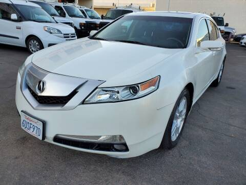 2009 Acura TL for sale at Convoy Motors LLC in National City CA