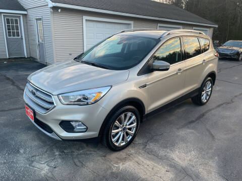 2018 Ford Escape for sale at Glen's Auto Sales in Fremont NH