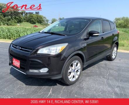 2013 Ford Escape for sale at Jones Chevrolet Buick Cadillac in Richland Center WI