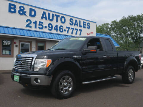 2011 Ford F-150 for sale at B & D Auto Sales Inc. in Fairless Hills PA