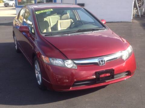 2006 Honda Civic for sale at Sindic Motors in Waukesha WI