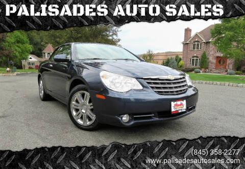 2008 Chrysler Sebring for sale at PALISADES AUTO SALES in Nyack NY